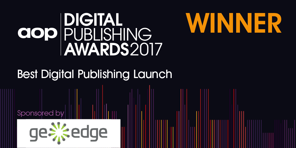 Digital Publishing Awards Winner